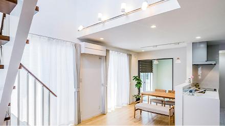自然素材の空気が美味しい家