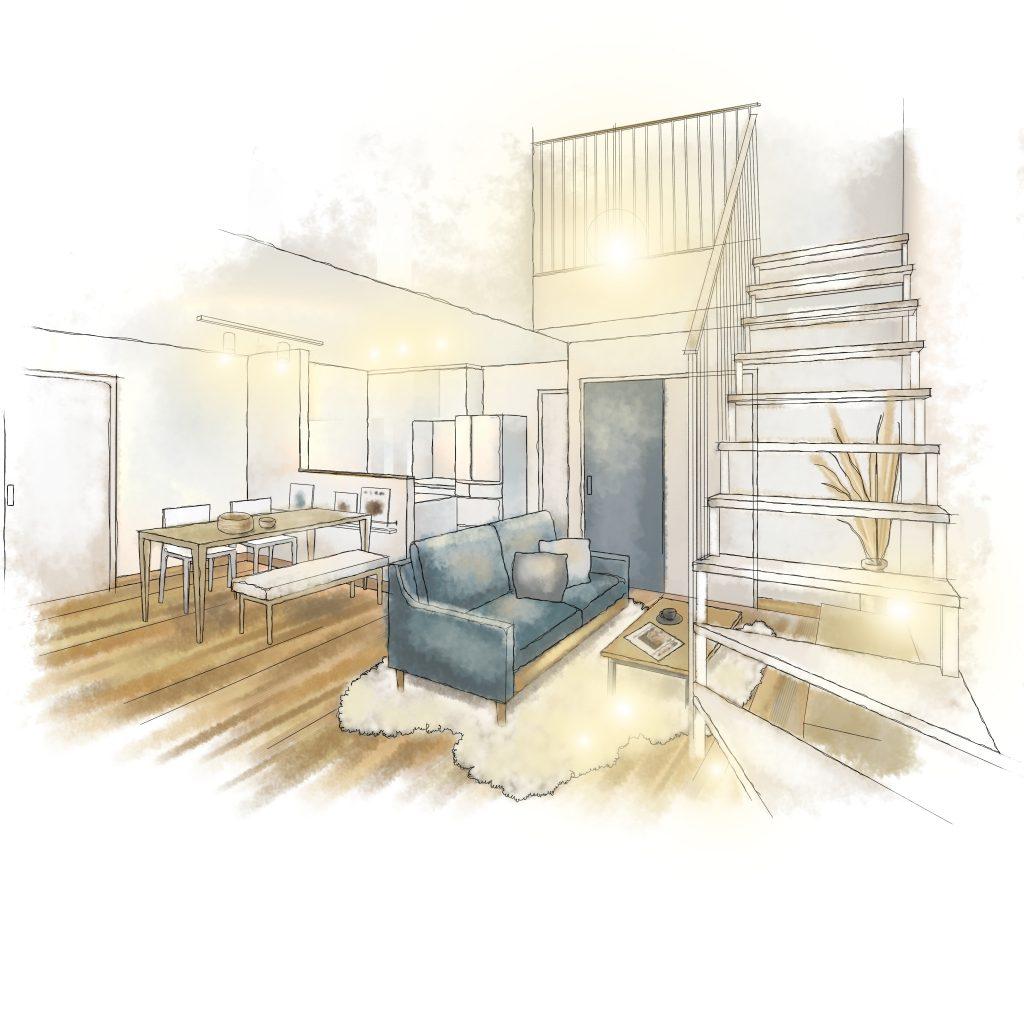 ウッドボックスの新モデルハウス<STANDARD>高知市南久万