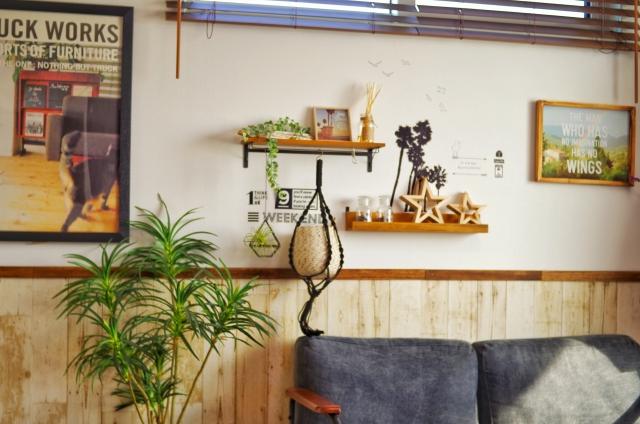 カリフォルニアスタイルのお部屋画像